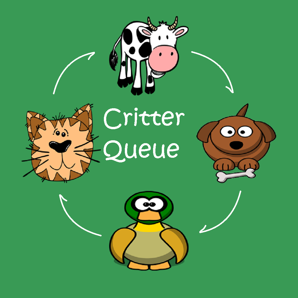 Critter Queue - A fun memory game for kids